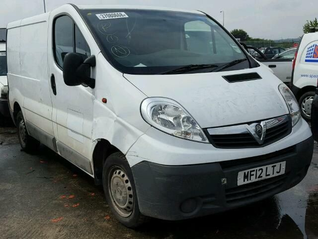 2012 VAUXHALL VIVARO 2700 CDTI 89 SWB BREAKING SPARES AND REPAIRS PARTS