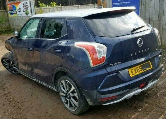 2015 SSANGYONG TIVOLI ELX MK1 Breaking Spares repairs Parts (ENGINE G16DF)