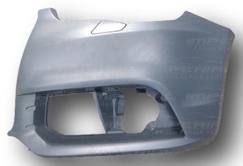 Audi A1 2010-2015 N/S Left Side Front Bumper Corner Primed UK Passenger Side