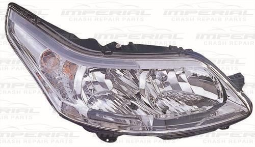 Citroen C4 O/S Front Headlamp Headlight -Right UK Drivers Side 08-11 Models