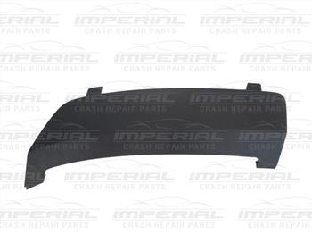Ford Fiesta 3 door MK7 2013-2017 Rear Bumper Moulding Tow Eye Cover - Black