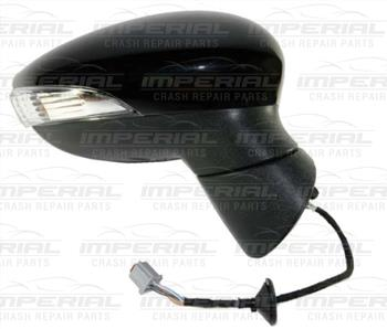 Ford Fiesta 5 door MK7 2008-2012 Door Mirror Cover Primed Off Side