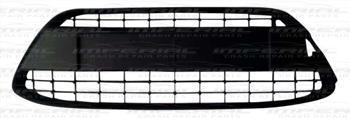 Ford Fiesta 5 door MK7 2008-2012 Front Bumper Grille No Chrome Surround (Standard Models)