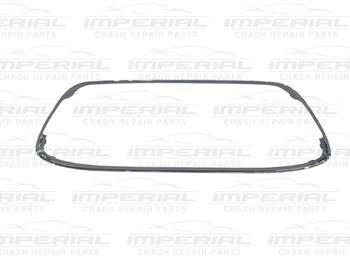 Ford Fiesta 5 Door MK7 2008-2012 Front Bumper Moulding Grille Surround - Chrome
