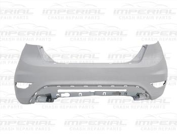 Ford Fiesta 5 Door MK7 2008-2012 Rear Bumper Primed