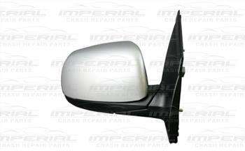 Kia Picanto 3dr Hatch 2011-2015 Door Mirror Manual Type With Primed Cover (No Repeater Lamp) O/S