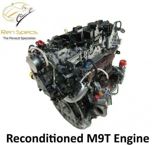 M9T Reconditioned engine 2.3 dci cdti Renault / Vauxhall / Nissan