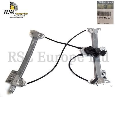 NEW MEGANE II CONVERTIBLE RIGHT FRONT OSF WINDOW REGULATOR + MOTOR  8201010931
