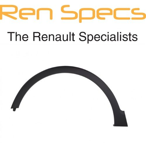RENAULT CAPTUR - BRAND NEW Front Left Wheel Arch Moulding Trim - Textured