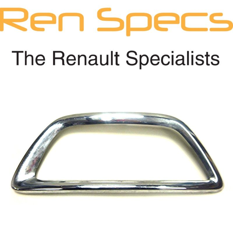 RENAULT CAPTUR BRAND NEW - Left Front Bumper Moulding Chrome Fog lamp surround