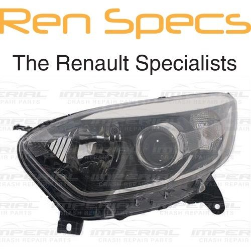 RENAULT CAPTUR - BRAND NEW Left Front Halogen Headlamp Type Headlamp