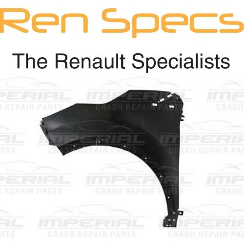 RENAULT CAPTUR BRAND NEW - Left Front Wing - OEM P/N 631018073R