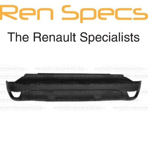 RENAULT CAPTUR BRAND NEW - Rear Lower Bumper - Black Textured (no sensor holes)
