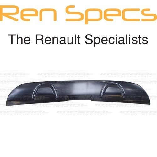 RENAULT CAPTUR BRAND NEW - Rear Lower Bumper Spoiler - Black Textured