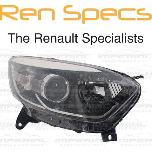 RENAULT CAPTUR - BRAND NEW Right Front Halogen Headlamp Type Headlamp