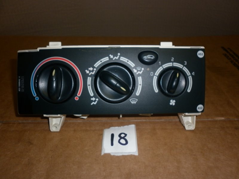 Renault Scenic Ph2 Heater Control A-R